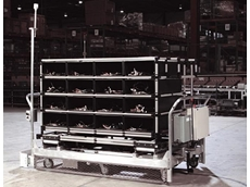 AGV system and Creform used in component plant