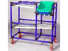 New model multi-functional flow rack available from Industrial Conveying