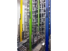 RF controlled Automated Storage and Retrieval System