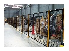 Modular safety fencing
