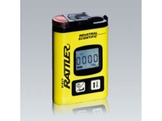 T40 Rattler portable gas detectors monitor for hydrogen sulfide or carbon monoxide gases