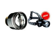 LED headlamp -- 10,000 hours.