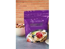 Compostable NatureFlex films provide an effective barrier against mineral oil residues in addition to oxygen and moisture barrier properties required for dried foods packaging