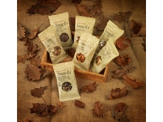 Infinity Foods snack packs are wrapped in compostable, high barrier NatureFlex NK film
