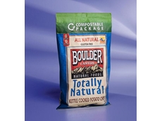 Boulder Canyon's potato chip package incorporates metallised NatureFlex NKM from Innovia Films