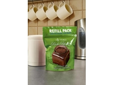 A lightweight coffee pouch made from renewable resources using NatureFlex from Innovia Films
