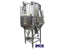 Inox Fabrications Australia's jacketed and insulated mixing tanks