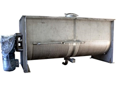 8000L single shaft ribbon blender