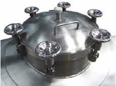 Inox pressure manway