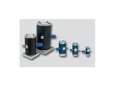 K-Type Pneumatic Linear Vibrators with Internal Piston