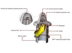 VHS pressure relief valve