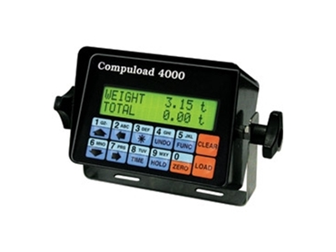 Ergonomic keypad and accurate data control with Compuload 4000