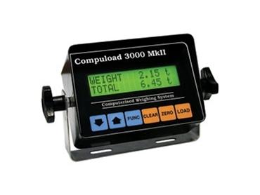User-friendly Compuload 3000MkII for precision accumulative totals