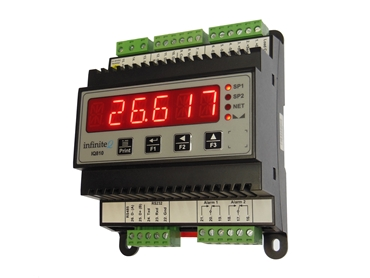 Instrotech IQ Rail Mount Load Cell display