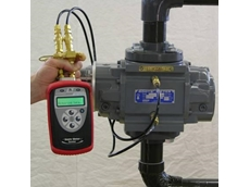 M201 rotary gas meter drop test equipment