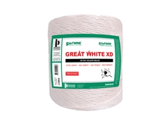 The Great White XD and LSB is a premium high-density, big square baling twine