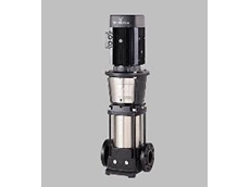 The Grundfos CR32-4 multistage pump