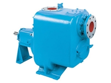 ITT Gould trash hog pumps are designed for solids handling