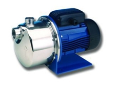 Lowara BG Series centrifugal pumps are suitable for use with drinking water up to dirty water