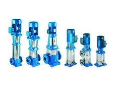 Lowara SV series multi stage pumps