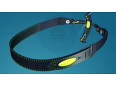 Patient headset worn for objective eye tests is designed on SolidWorks 3D CAD software