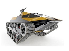 Extreme vehicle design with SolidWorks software
