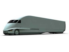 FutureTruck tractor-trailer platform designed with SolidWorks