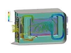 ioSafe leveraged SolidWorks design, simulation and fluid-flow analysis tools to develop a disaster-proof data storage device
