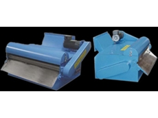 Magnetic drum separators provide magnetic filtration for machines