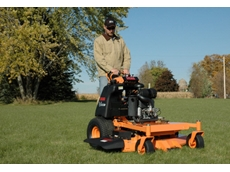 These stand on mowers offer comfort, flexibility, stability and speed to their operators