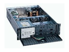3U chassis with removable drive bays