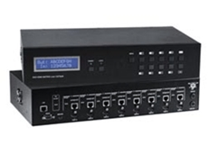4K HDMI Matrix Switch Video Extender with Power Over Ethernet (PoE)