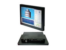 APC-3228 Series wide screen industrial panel PCs available from Interworld Electronics
