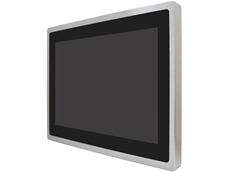 "ATEX Certified 19"" stainless steel display for hazardous areas"