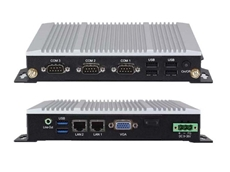 ACS-2310 ultra compact multi-core embedded controllers - front and rear views