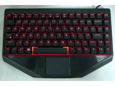 BLTX Sealed full travel backlit small footprint keyboard