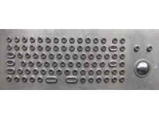 CROWN-KBT Series stainless steel keyboards from Interworld Electronics