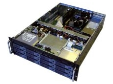 The RAK-380X chassis for servers with large storage requirements
