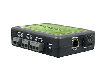 Ethernet to digital I/O interface