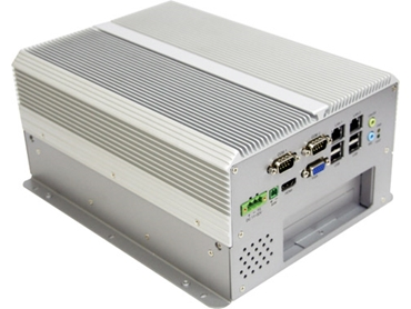 Advanced Fanless Embedded Controller with PCI-Express Expansion