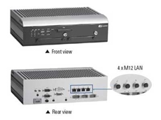 Fanless embedded system for transportation applications