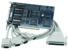 High speed serial communications board