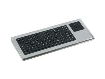 IP65 Industrial keyboard with touchpad and stainless steel housing