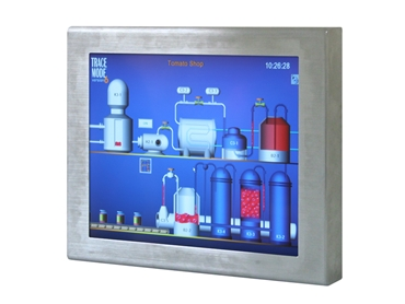 """19"""" IP65 Front Stainless Steel Monitor"""