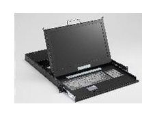 SMK series 1U industrial LCD monitor keyboard drawer