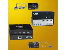 Keyboard, Video, Mouse and USB Extenders and Splitters by Interworld Electronics