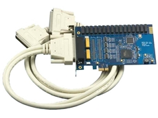 PCI Express Digital I/O Interfaces from Interworld Electronics