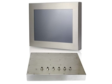"Fanless 17"" IP 65 Stainless Steel Panel PC"