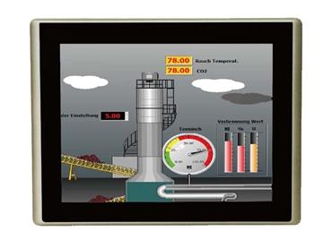 "Industrial Compact 7"" HMI Controller"