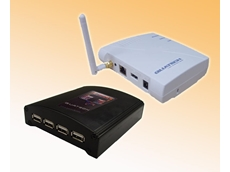 Quatech's USBN-500 series of USB Device Servers from Interworld Electronics